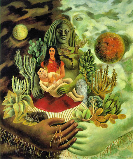 Frida Kahlo - Love's Embrace of the Universe